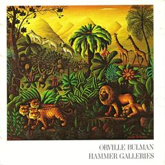 Booklet, Pictures Of Paintings By Orville Bulman On Exhibit At  The Hammer Galleries, New York, During October And November ...