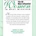 Program, The 50 Most Influential Women In West Michigan