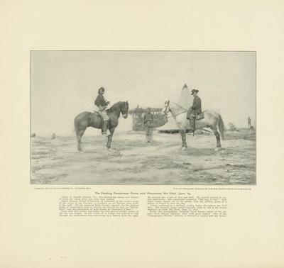 Print, The Dashing Cavalryman Custer