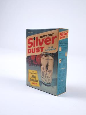 Silver Dust Detergent Box