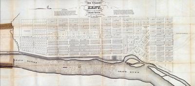 Plat Map, Village Of Kent