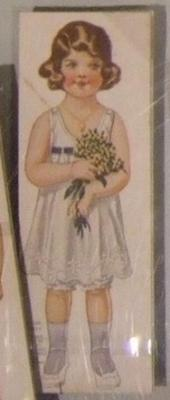 Paper Doll, Girl 'betty', No. 616