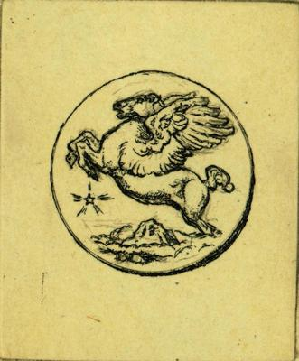 Print, 'american Academy Of Arts & Letters Medal - State I' (1 Of  14)