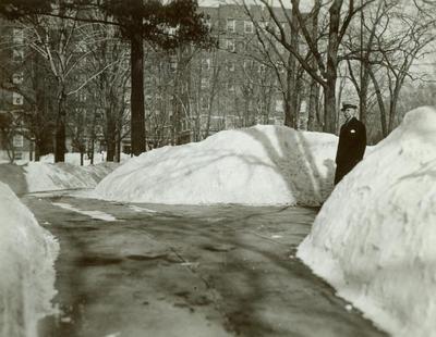 Photograph, Man At Cherry St. Oakwood Manor