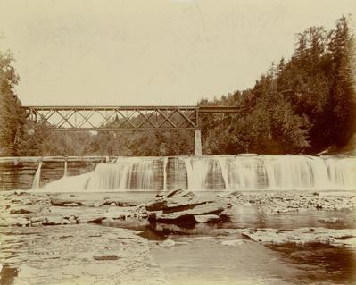 Photograph, Mildam Falls, Trenton, New York