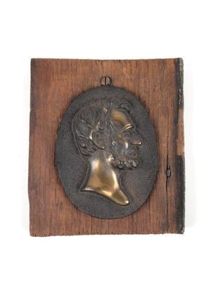 Plaque, Lincoln Head