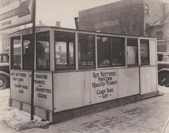 Photograph, Hot Buttered Popcorn Stand