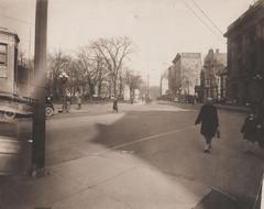 Photograph, East Fulton and Sheldon Looking East