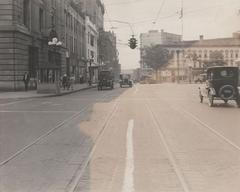 Photograph, East Fulton and Sheldon Looking West