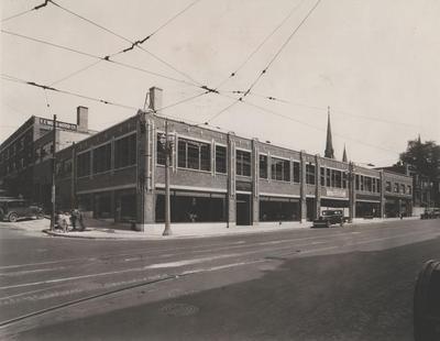 Photograph, Leppere Motors Buildings