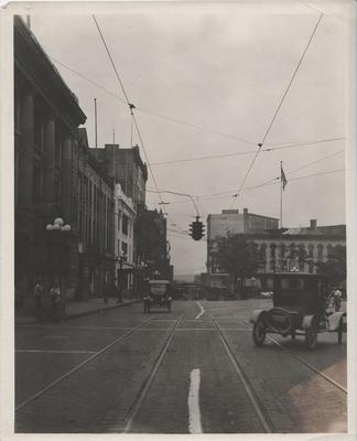 Photograph, Fulton and Sheldon Intersection
