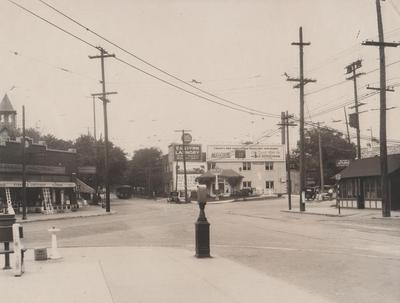 Photograph, Wealthy and Lake Drive Intersection