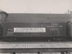 Photograph, Pere Marquette Box Car