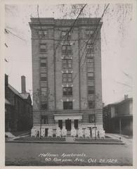 Photograph, Hoffman Apartments on Ransom Avenue