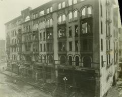 Photograph, Livingston Hotel Fire