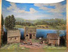 Diorama, Grand Rapids in 1827