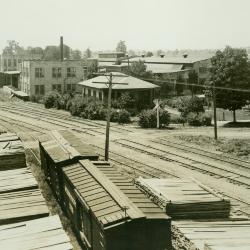 Photograph, Train Yard