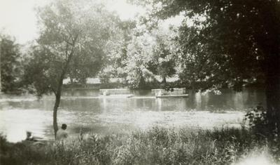 Photograph, Clammers In The Grand River And Flat River