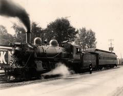 Photograph, Grand Trunk Western Engine #1550
