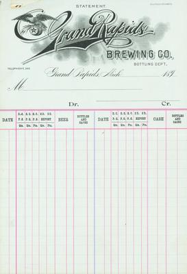 Statement, Grand Rapids Brewing Company