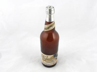 Bottle, Export Beer