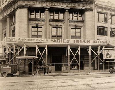 Photograph, Abie's Irish Rose At The Powers Theater