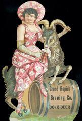 Advertisement, Grand Rapids Brewing Company Bock Beer