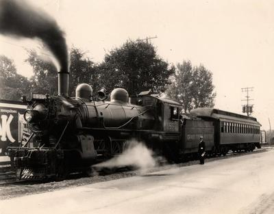 Photograph, Grand Trunk Western Engine #1550