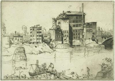 Print, 'riverfront - State Vi' (6 Of 7)