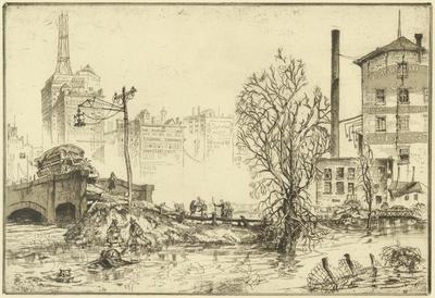 Print, 'High Water - State III (Final)' (3 Of 3)