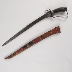 Bolo Knife And Scabbard