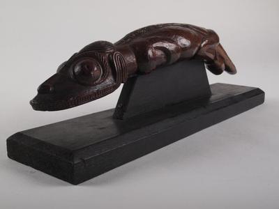Lizard Man Figurine, Moko