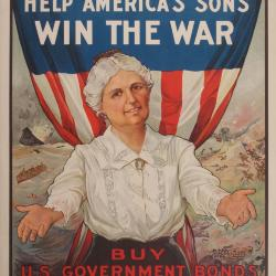 Poster, Women! Help America's Sons Win The War