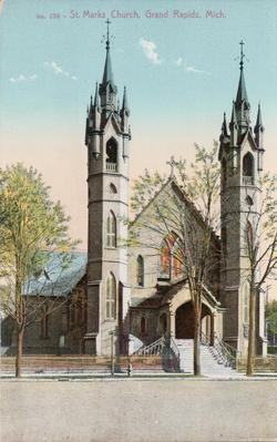 Postcard, St. Marks Church