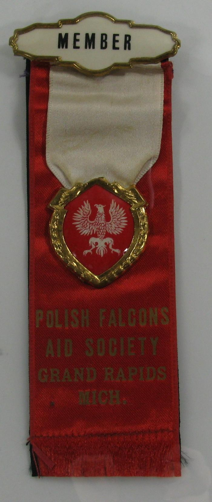 Ribbon, Polish American Archival Collection #127