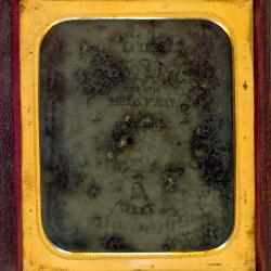 Cased Photograph, Lords Prayer