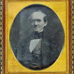 Cased Photograph, Mr. Jarvis Brush
