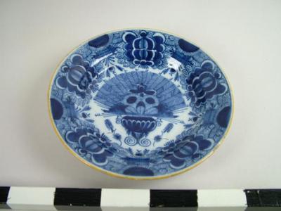 Plate, Peacock