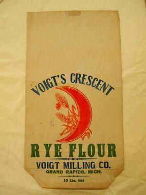 Flour Bag, Voigt's Crescent Rye