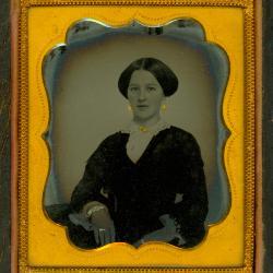 Cased Photograph, Anna Maria Hake