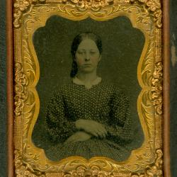 Cased Photograph, Mrs. Chase Kutts