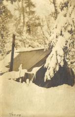 Photograph, Tent In Snow