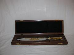 Commemorative John Singleton Mosby Knife with Case