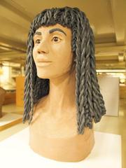 Facial Reconstruction Of Female Mummy Skull, Nakhte-bustet-iru