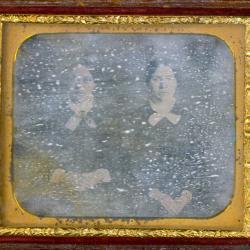 Cased Photograph, Almeria And Desdamona