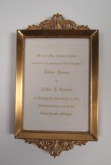 Announcement, Wedding