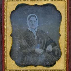 Cased Photograph, Elizabeth E. Church
