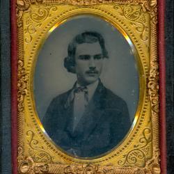 Cased Photograph, Mr. Bancoff