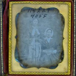 Cased Photograph, Two Unidentified Woman
