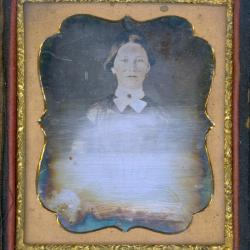 Cased Photograph, Anna M. Campbell